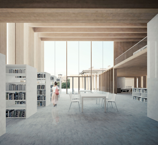 COMPETITION FOR THE NEW LIBRARY IN VIC